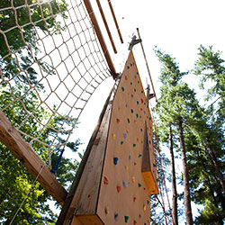 Interior activities challenge course